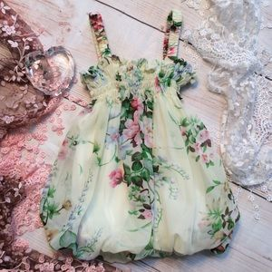 Other - Boutique Baby Girls Floral Dress